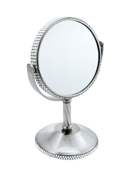 Crystal Standing Mirror