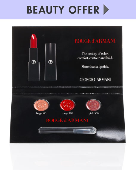 Yours with ANY Armani Beauty purchase