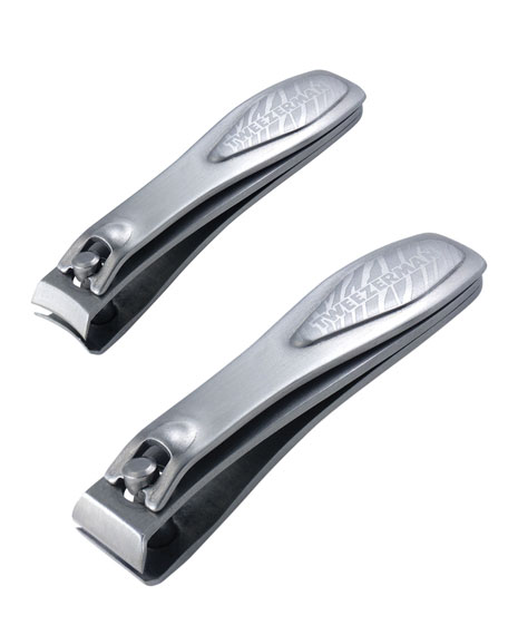 Satin Etched Nail Clipper Set