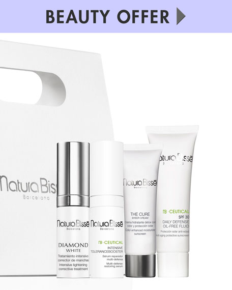 Yours with any $250 Natura Bisse purchase