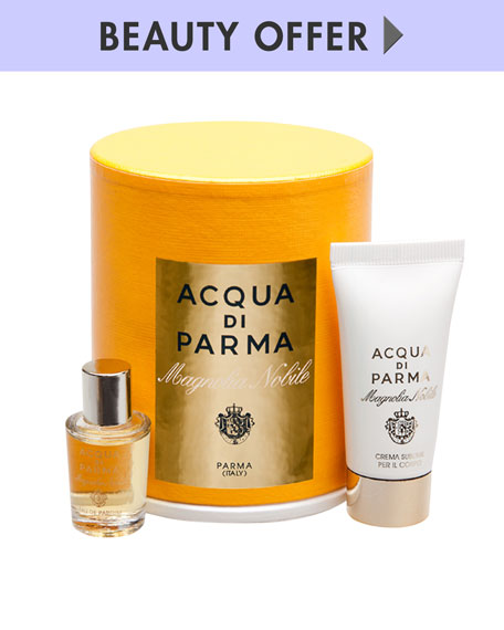 Yours with any $100 Acqua di Parma purchase