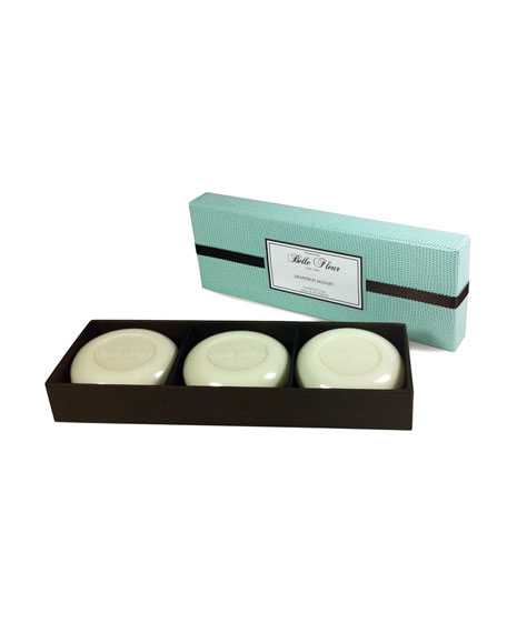 Grapefruit Muguet Soap Trio