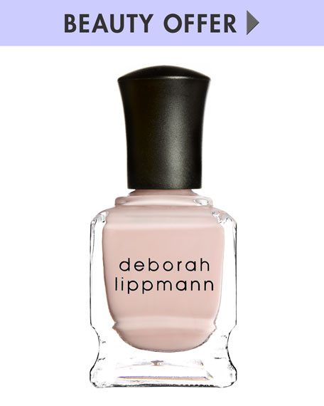 Yours with any $50 Deborah Lippmann purchase