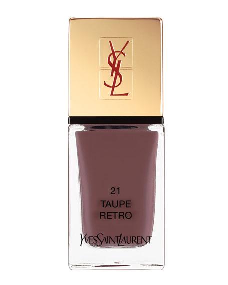 Yves Saint Laurent Beaute La Laque No21 Taupe Retro