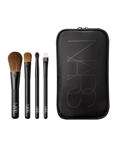 Cosmetic Bag & Travel Brushes