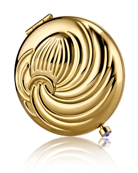 Limited Edition Zodiac Aquarius Compact