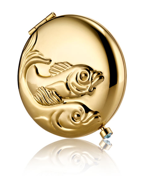 Limited Edition Zodiac Pisces Compact
