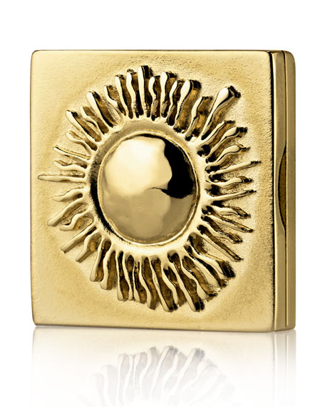 Limited Edition Antique Sun Beautiful Solid Perfume Compact