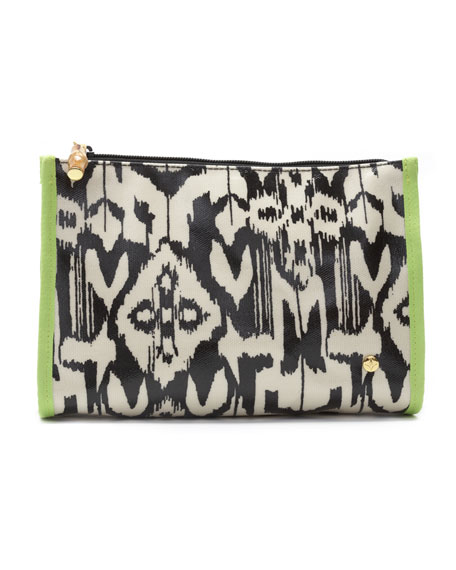 Sumatra Zip Makeup Bag, Medium