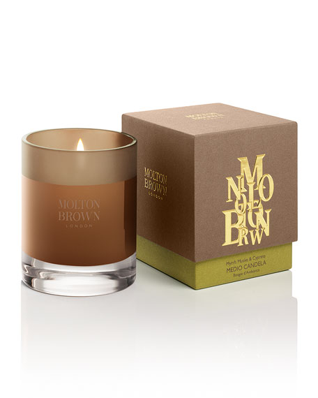 Myrrh Muske Cypress Candle
