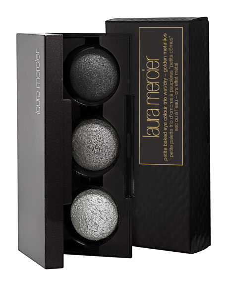 Petite Baked Eye Colour Trio, Smoky