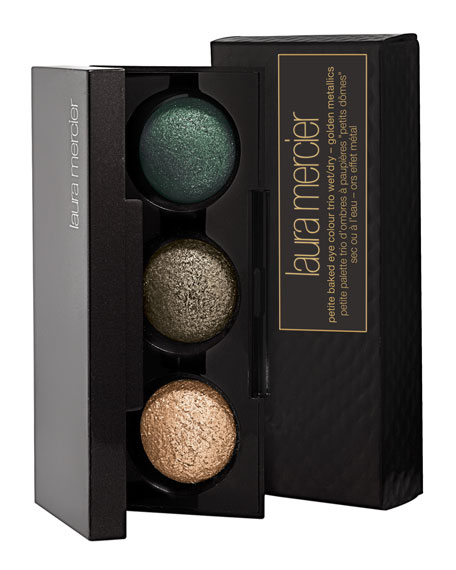 Petite Baked Eye Colour Trio, Golden