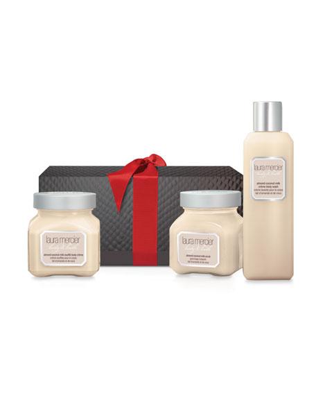 Almond Coconut Milk Body & Bath Trio