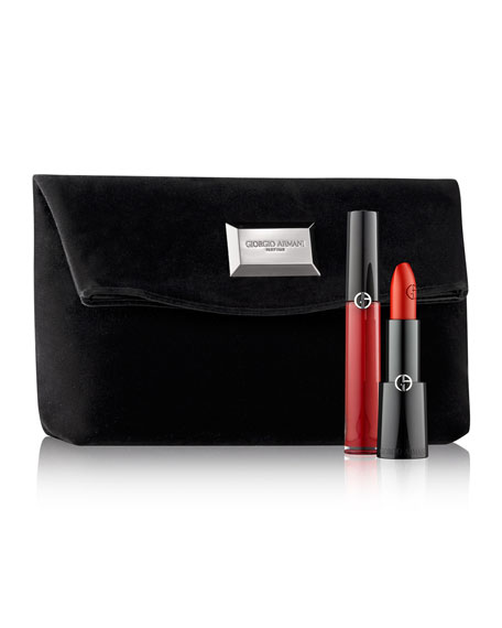 The Red Lip Set