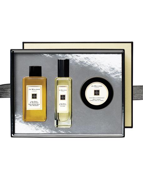 Lime Basil & Mandarin Collection Set