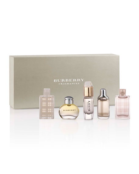 burberry fragrance classic women mini fragrance coffret. Black Bedroom Furniture Sets. Home Design Ideas