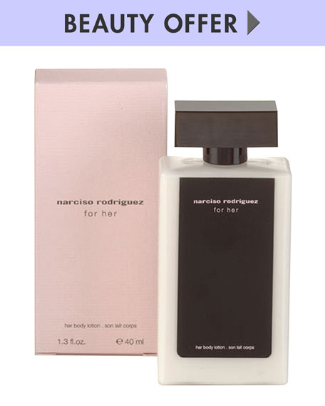 Yours with Any $100 Narciso Rodriguez purchase