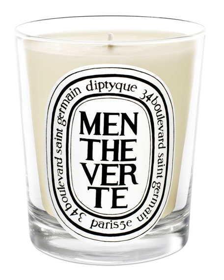 Diptyque Menthe Verte Scented Candle, 190g