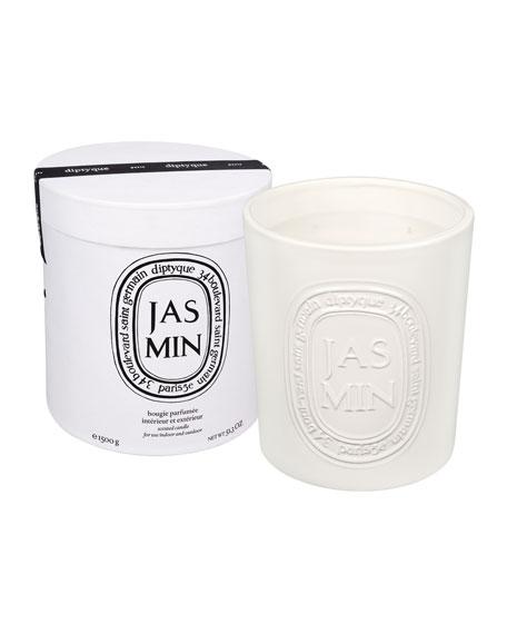 Ceramic Jasmine Scented Candle