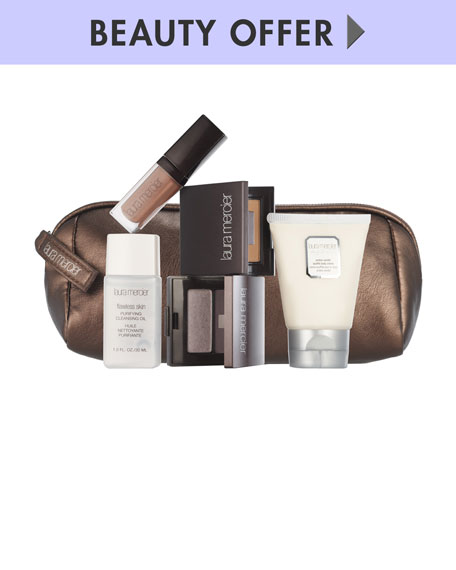 Yours with any $125 Laura Mercier Purchase