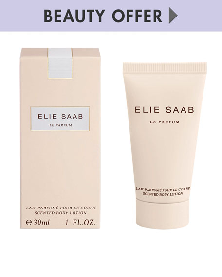 Yours with any $105 Elie Saab Beauty Purchase