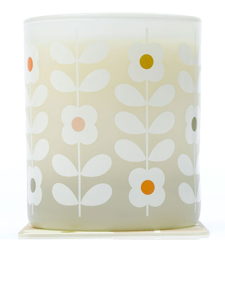 Basil & Mint Scented Vegetable Wax Candle