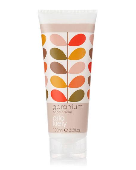 Geranium Hand Cream, 3.3 fl.oz.