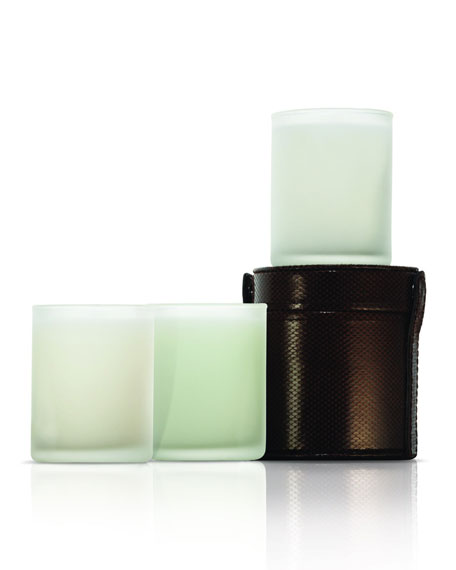 Limited Edition Travel Candle Trio