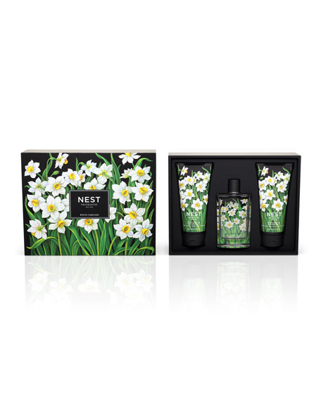White Narcisse Gift Set