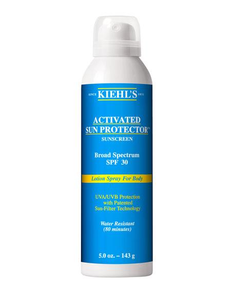 Activated Sun Protector Spray For Body SPF30