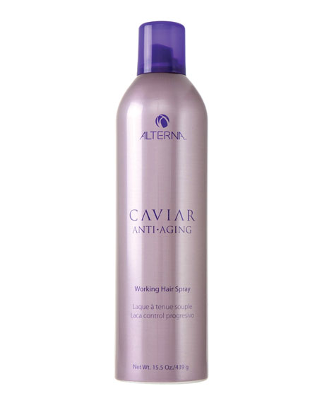 Alterna Caviar Anti-Aging Working Hairspray, 15.5 oz.