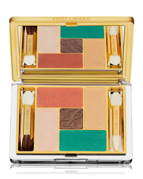 Limited Edition Pure Color Five Color Eyeshadow Palette, Batik Sun