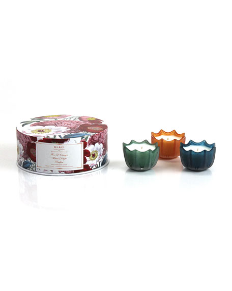 Pacifica, Turkish Delight, & Fleur D'Oranger Candle Gift Set