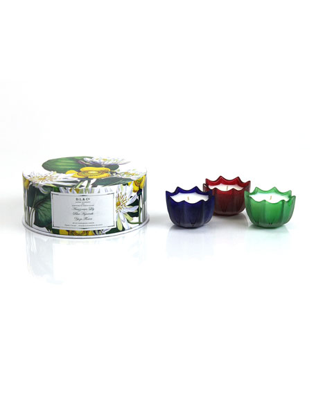 Amazonian Lily, Blue Hyacinth, & Yuzu Flower Candle Gift Set
