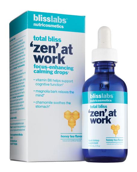 total bliss zen at work focus-enhancing calming drops