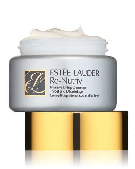 Re-Nutriv Intensive Lifting Cream for the Throat & Decolletage