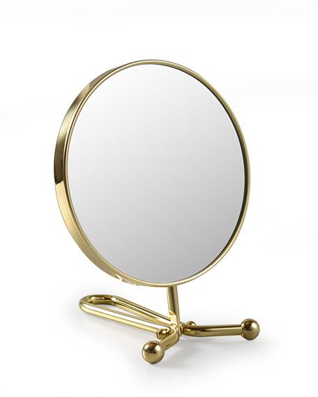 Handheld Mirror, Brass