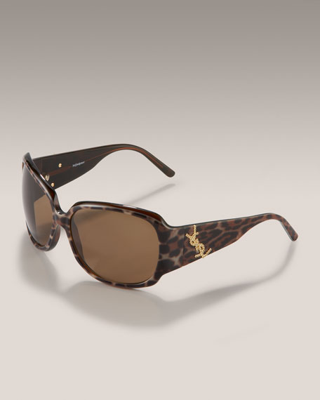Ysl Glasses Frame : YSL Square-Frame Sunglasses