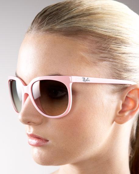 Large Round Wayfarer Sunglasses