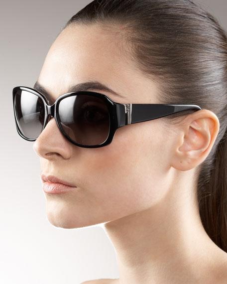 Printed Plastic Sunglasses