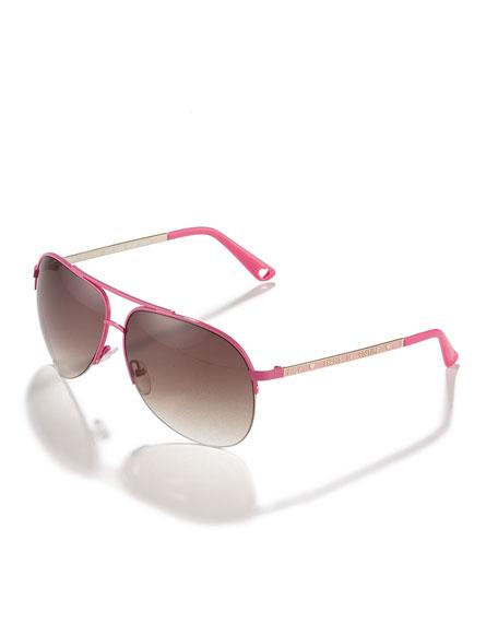 Tuxedo Aviator Sunglasses