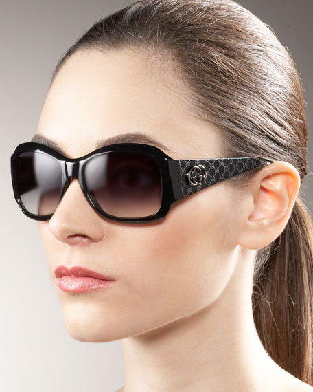 Quilted Plastic Sunglasses