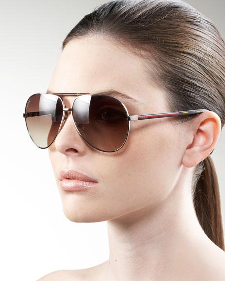 Basic Aviator Sunglasses