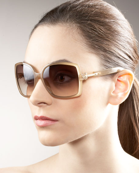 Thin Plastic Sunglasses