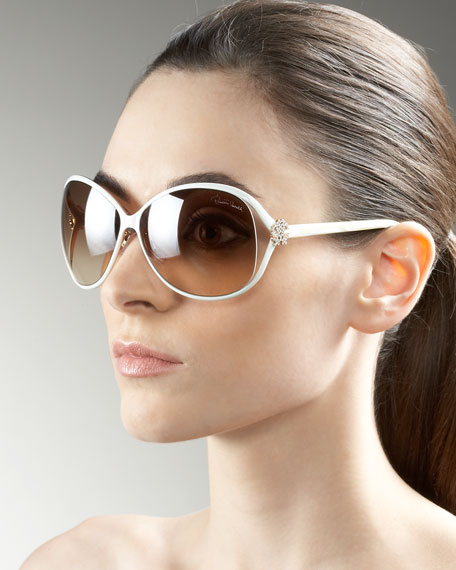 Open-Temple Sunglasses