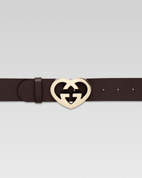 4cm Heart G-Adjustable Belt