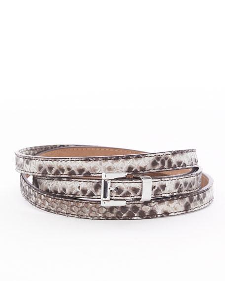 Skinny Python Waist Belt