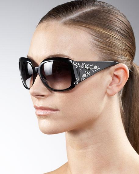 Crystal-Detail Sunglasses