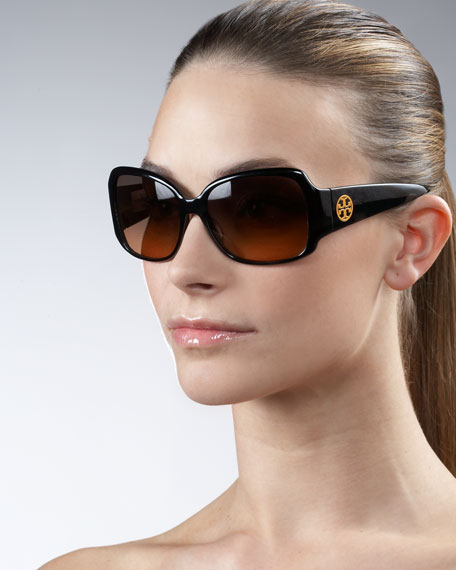 Square Logo Sunglasses