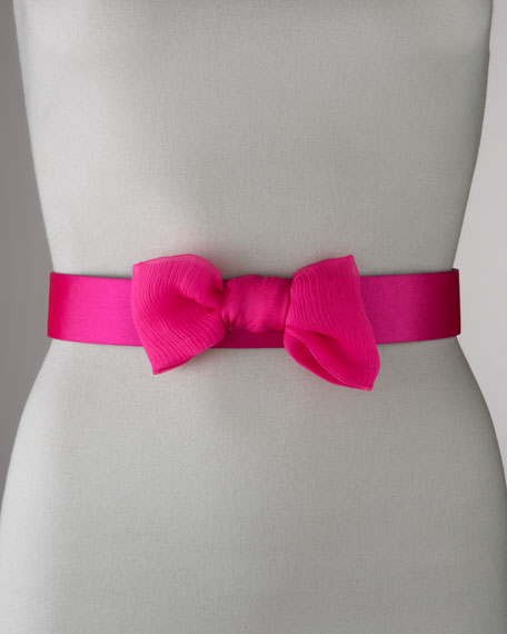 Silk Bow Belt